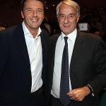 Renzi e Pisapia insieme al Dal Verme in una foto d'archivio tratta da repubblica.it