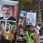Piccardo ad una manifestazione pro Morsi